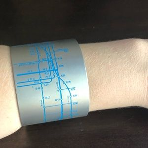 Jewelry - NYC Subway Cuff Bracelet